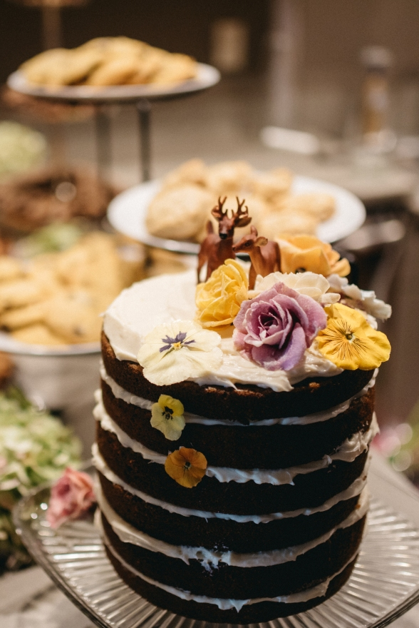 Jess and Scotty's Chocolate cake